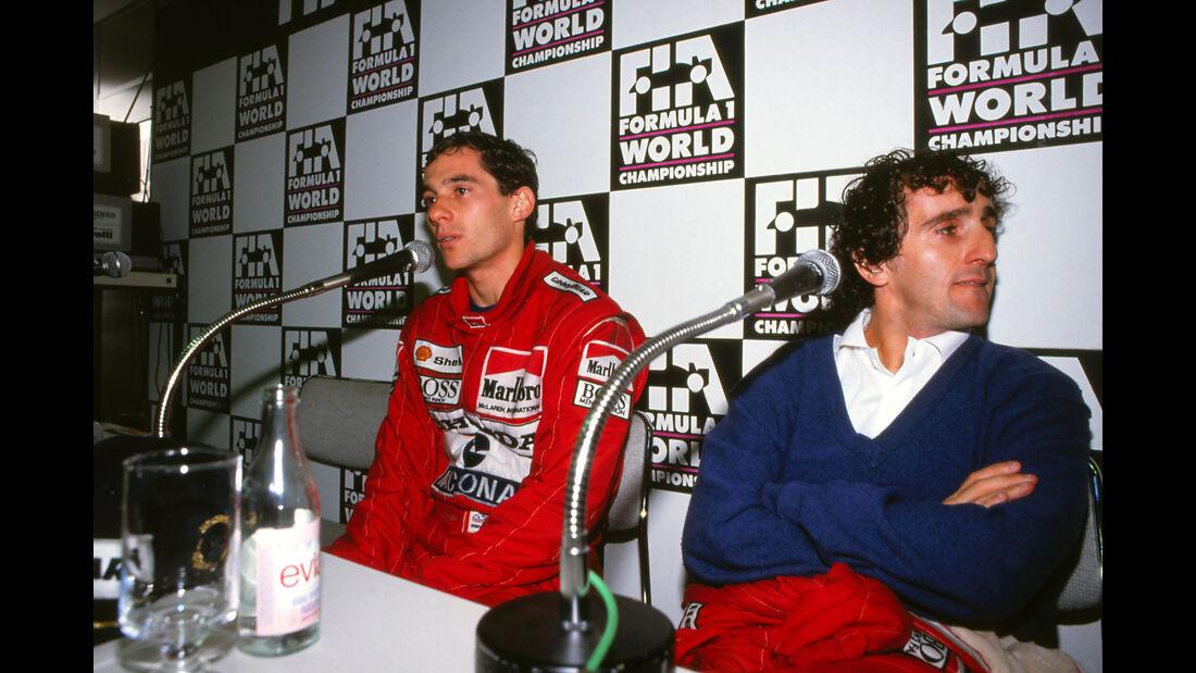 Ayrton Senna - Alain Prost - McLaren - GP Japan 1988