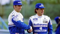 Ayrton Senna & Damon Hill - Formel 1 1994