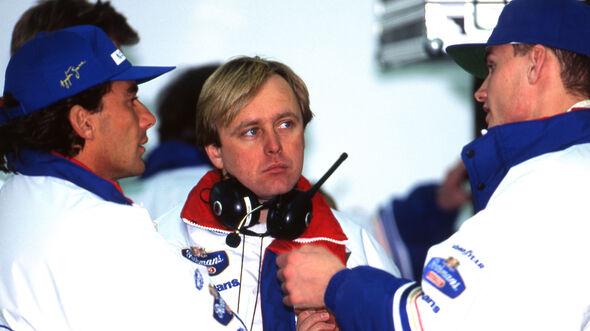 Ayrton Senna & David Coulthard - Williams - 1994