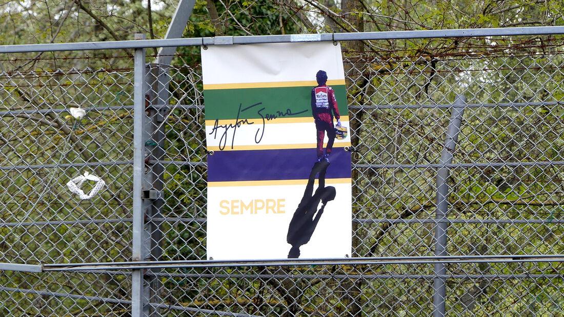 Ayrton Senna - Formel 1 - Imola - GP Emilia-Romagna - 15. April 2021