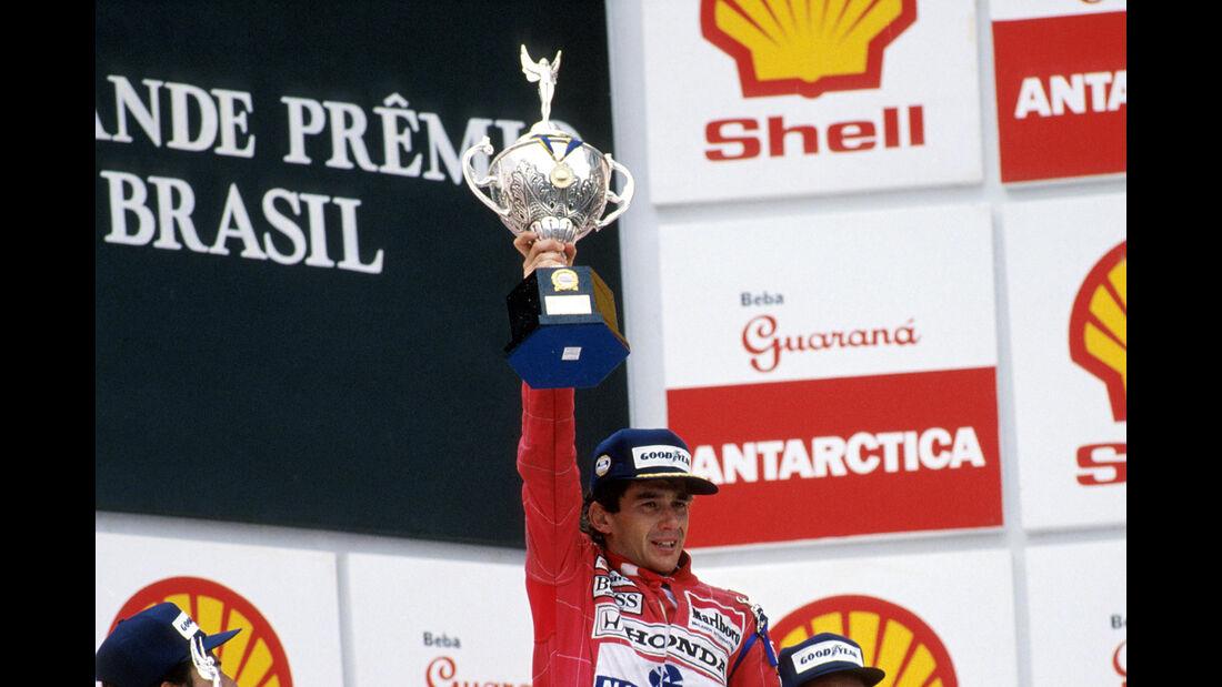 Ayrton Senna - GP Brasilien 1991