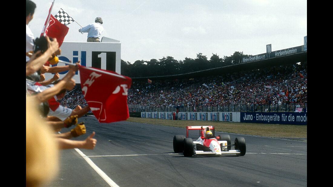 Ayrton Senna - GP Deutschland 1990