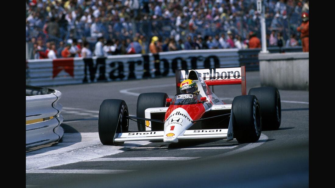 Ayrton Senna GP Monaco 1989