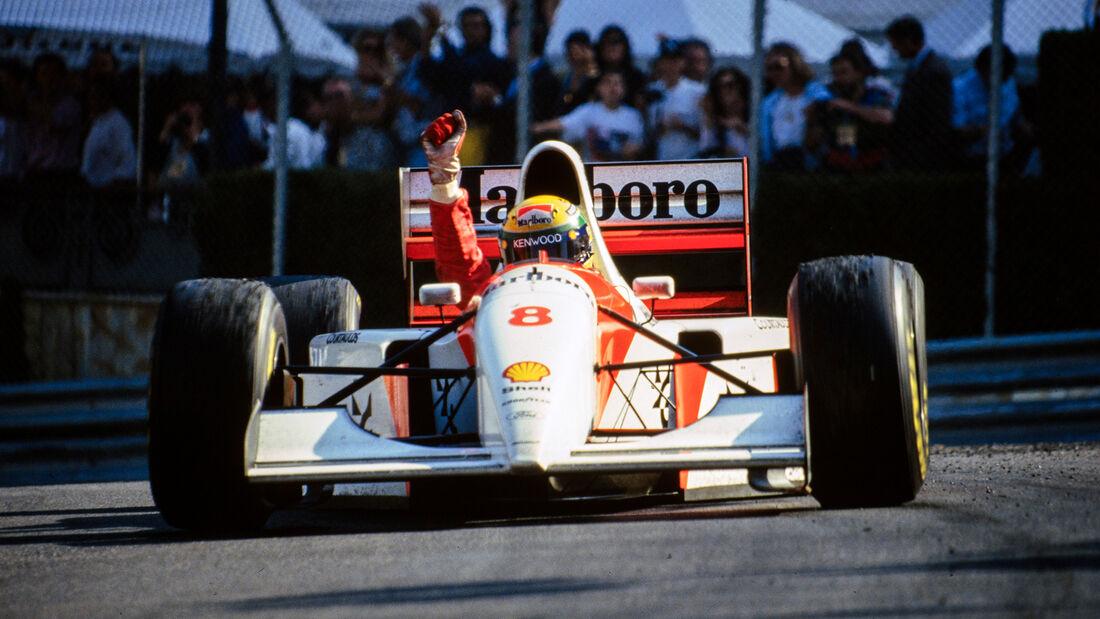 Ayrton Senna - GP Monaco 1993