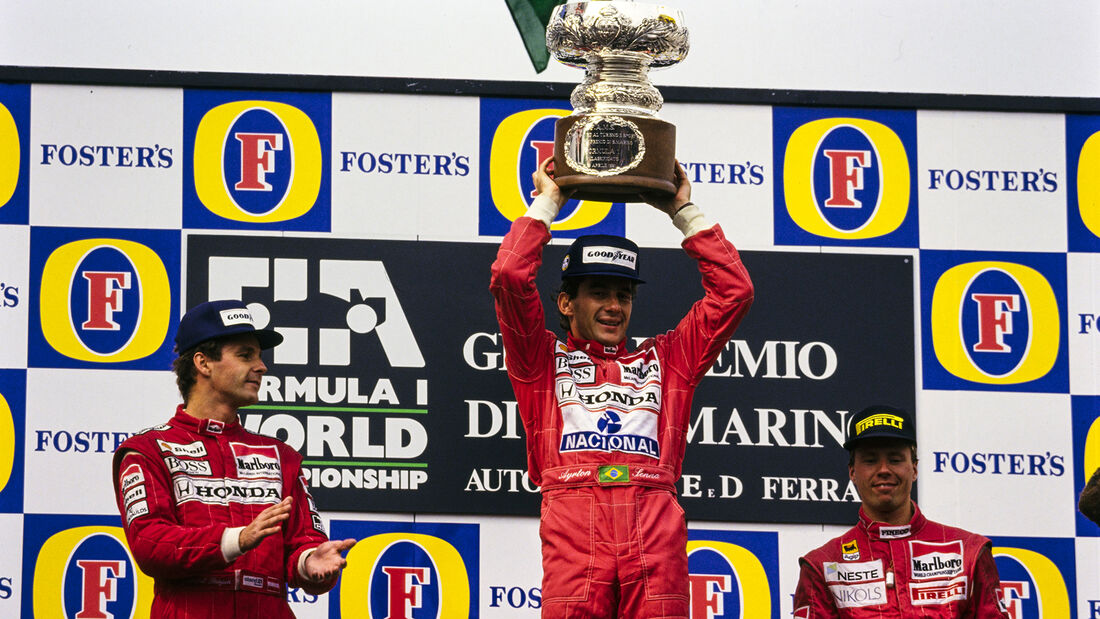 Ayrton Senna - GP San Marino  - Imola - 1991