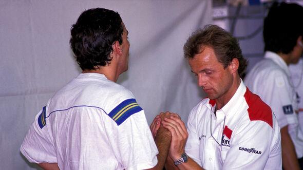 Ayrton Senna & Joseph Leberer - McLaren - F1