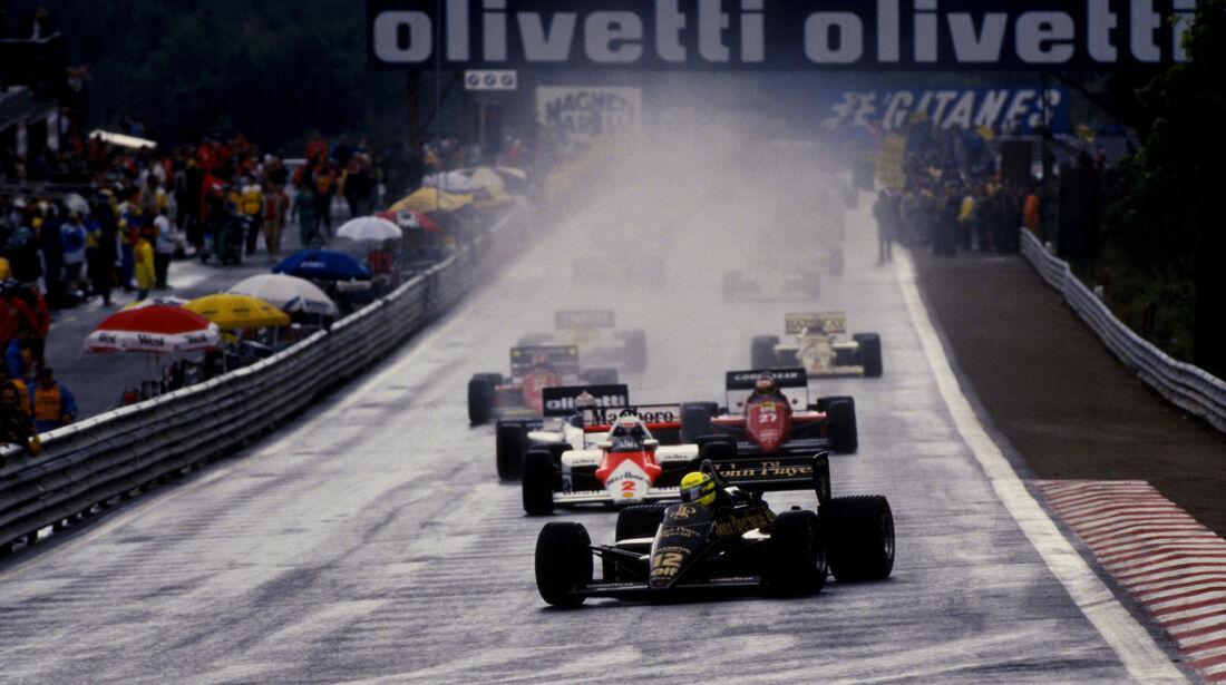 Ayrton Senna - Lotus 97T - GP Belgien 1985 - Spa