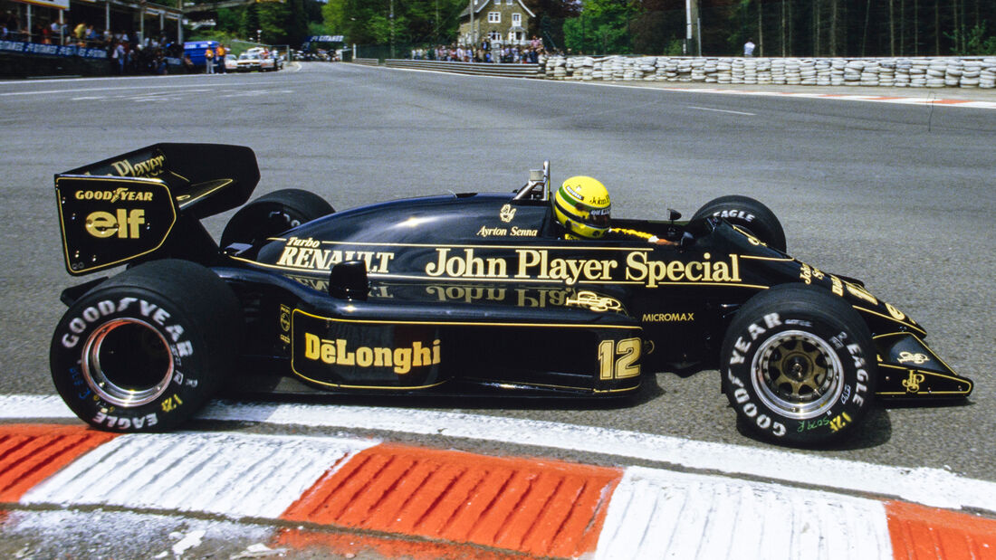 Ayrton Senna - Lotus 98T - F1 - 1986