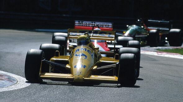 Ayrton Senna - Lotus-Honda 99T Turbo - GP Italien 1987