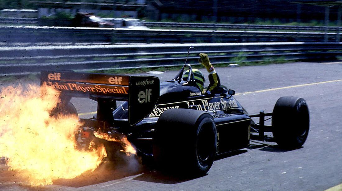 Ayrton Senna - Lotus im Feuer