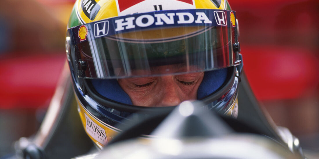 Ayrton Senna McLaren 1992