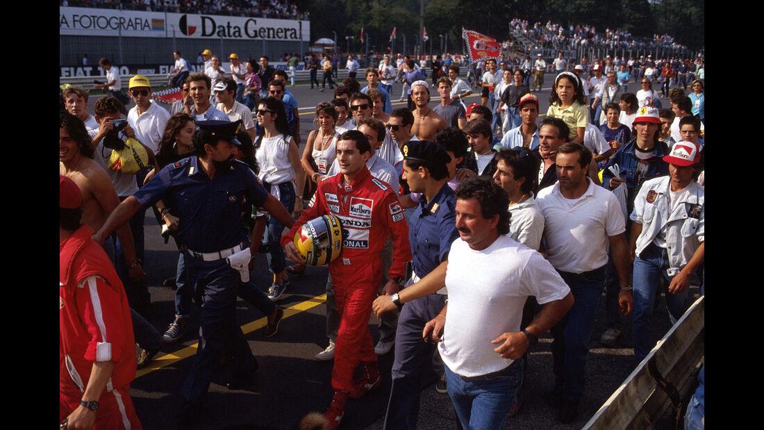 Ayrton Senna - McLaren - GP Italien 1988