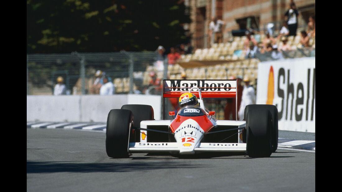 Ayrton Senna - McLaren MP4/4 - GP Australien 1988 - Adelaide