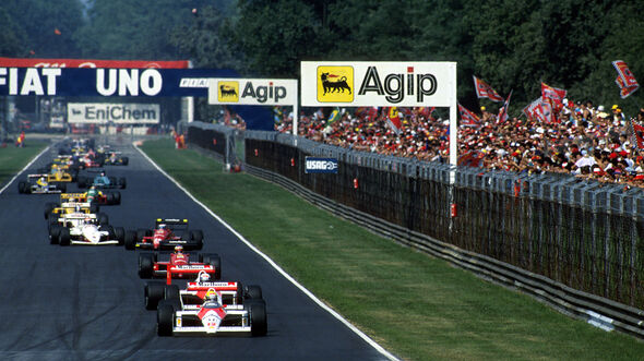 Ayrton Senna - McLaren MP4/4 - GP Italien 1988