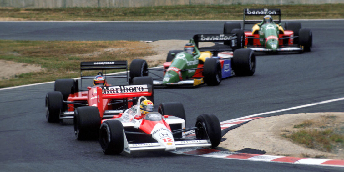 Ayrton Senna - McLaren MP4/4 - GP Japan 1988