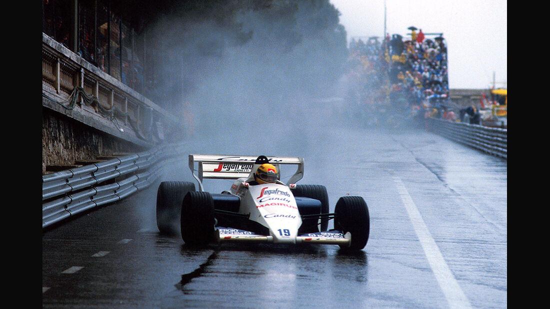 Ayrton Senna Toleman GP Monaco 1984