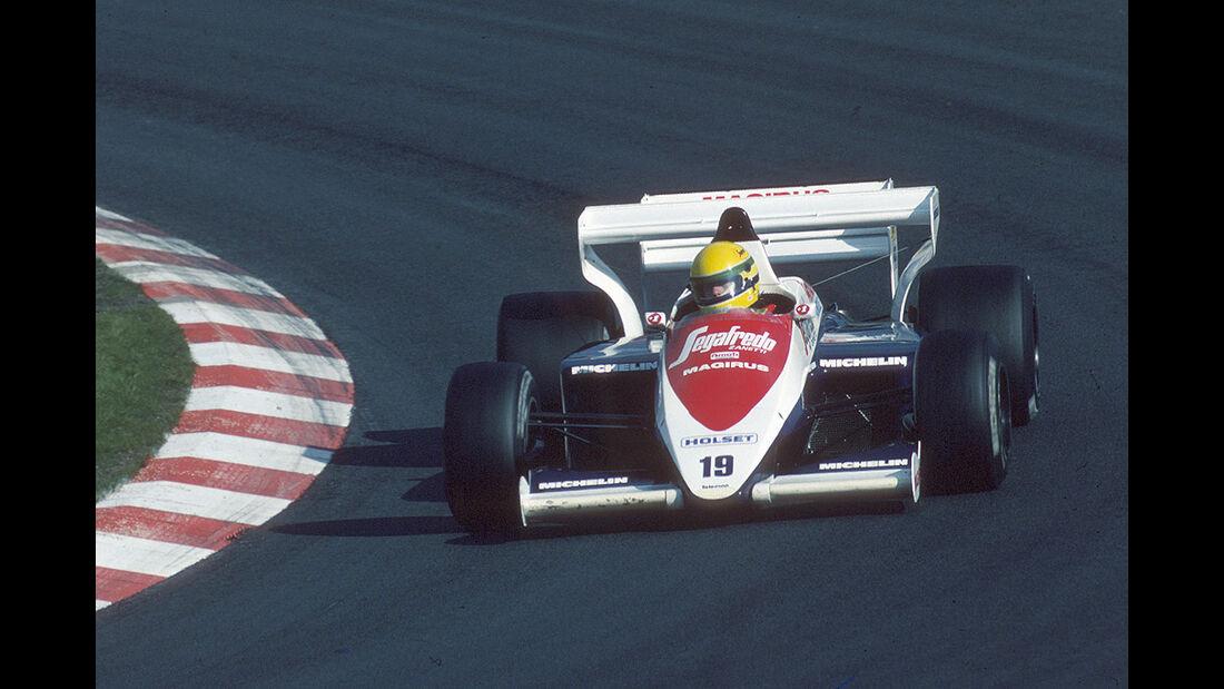 Ayrton Senna, Toleman-Hart TG184 Turbo