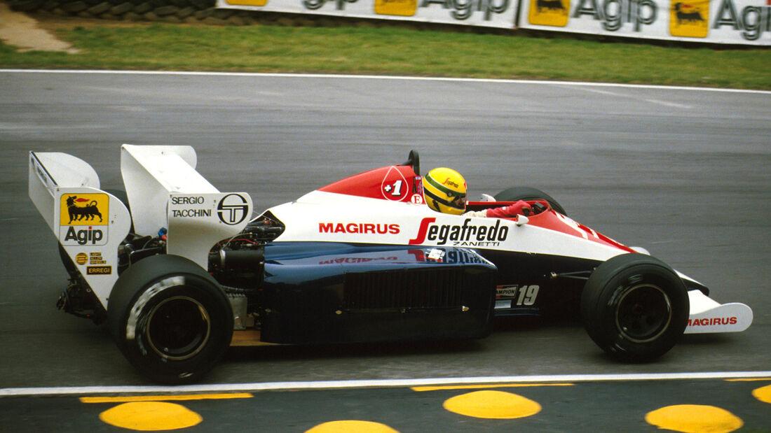 Ayrton Senna - Toleman TG184 - GP England 1984