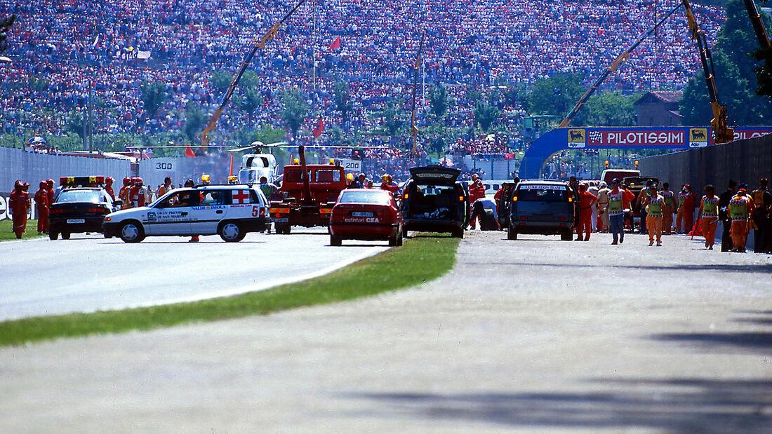 Ayrton Senna Leiche