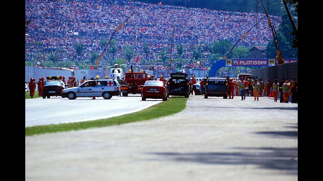 Ayrton Senna - Williams FW16 - GP San Marino 1994 - Imola