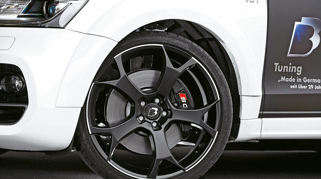 B&B-Audi SQ5, Rad, Felge, Bremse