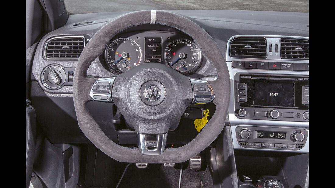 B&B-VW Polo R WRC, Cockpit, Lenkrad