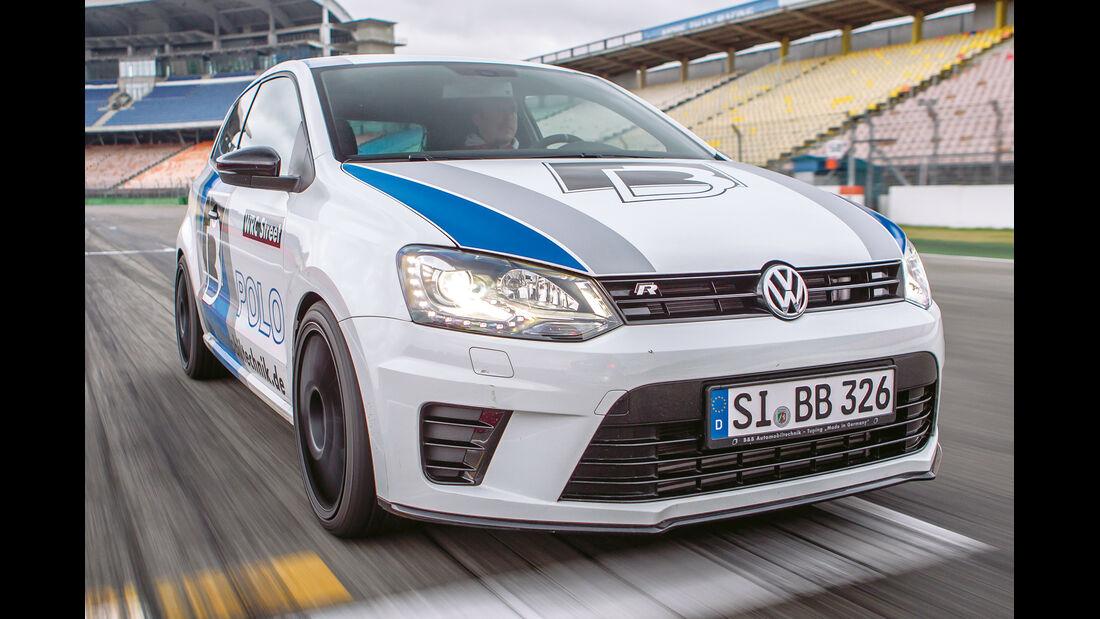 B&B-VW Polo R WRC, Frontansicht