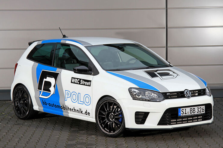 b b vw polo r wrc street 2 0 tsi 270 km h im rallye look auto motor und sport. Black Bedroom Furniture Sets. Home Design Ideas