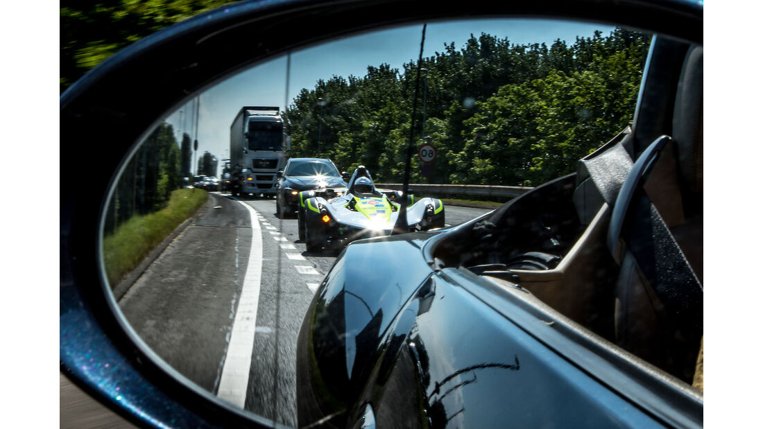 BAC Mono Polizeiauto