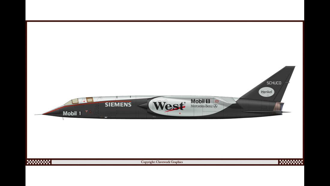 BAC TSR-2 - McLaren-Mercedes - Racing-Planes - 2015