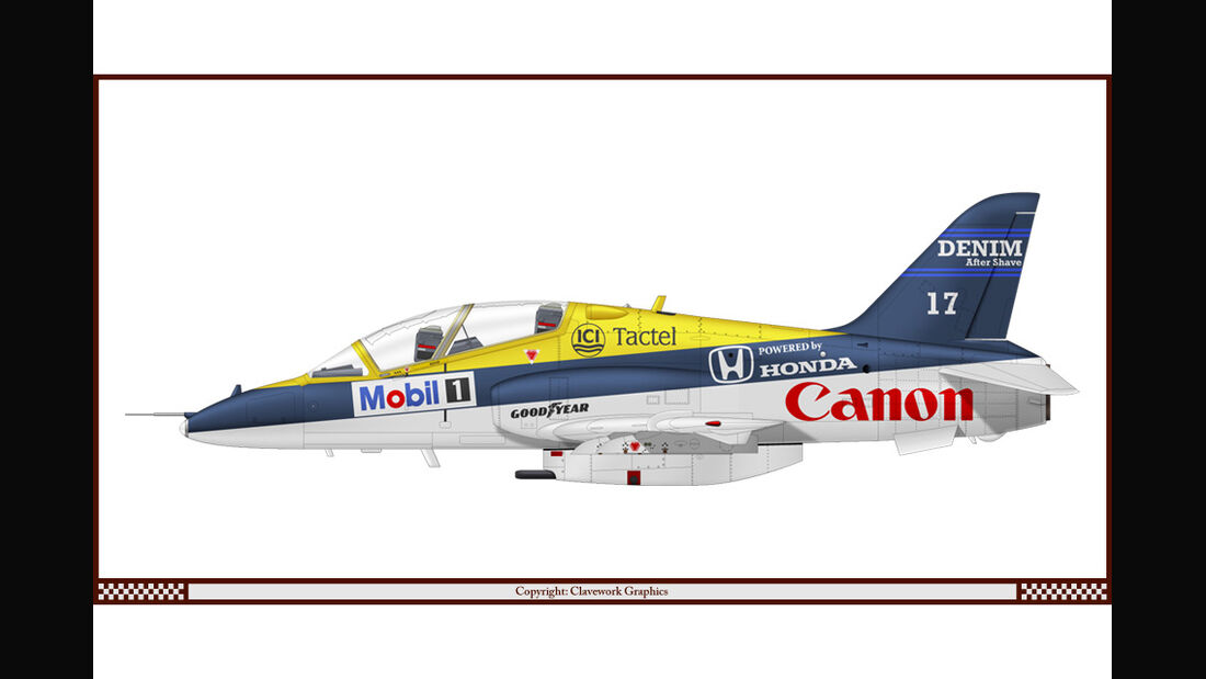 BAE Hawk - Williams - Racing-Planes - 2015
