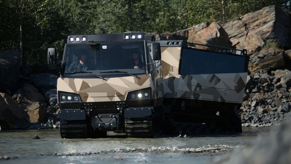 BAE Systems Beowulf Raupenfahrzeug