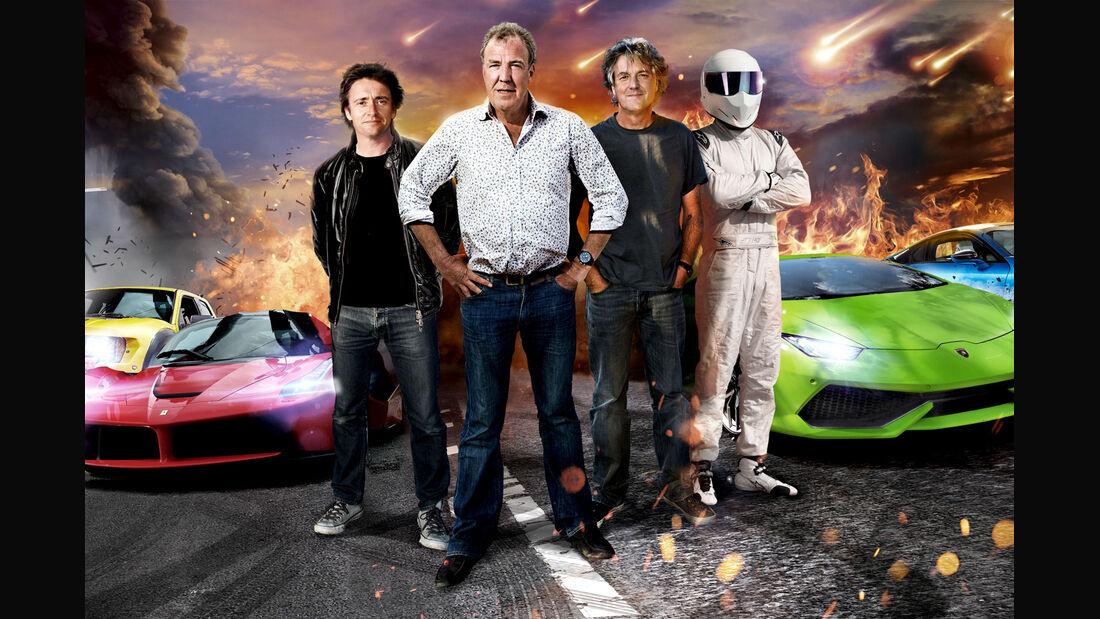 BBC Top Gear Clarkson Hammond May