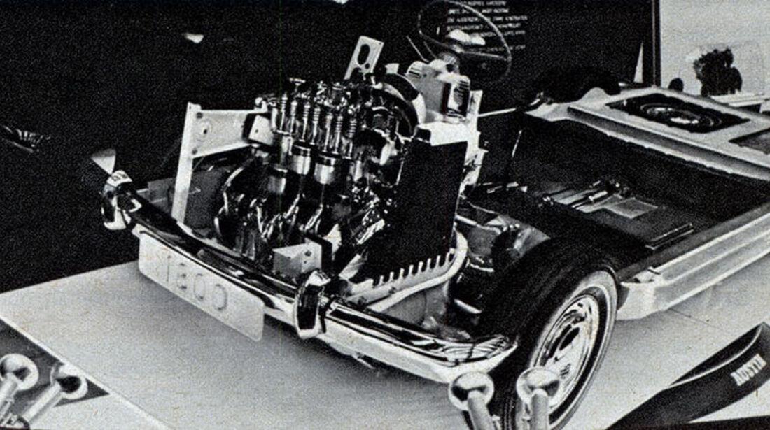 BMC, Austin 1800, IAA 1967