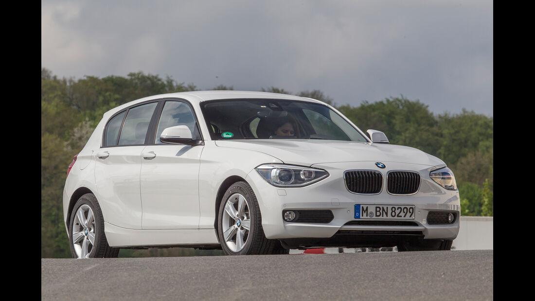 BMW 114d, Frontansicht