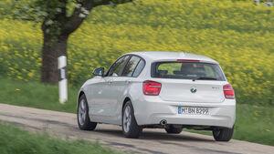 BMW 114d, Heckansicht
