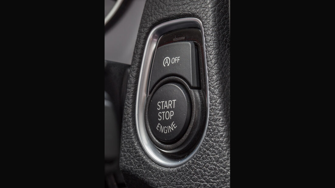 BMW 114d, Start-Stopp, Bedienelement