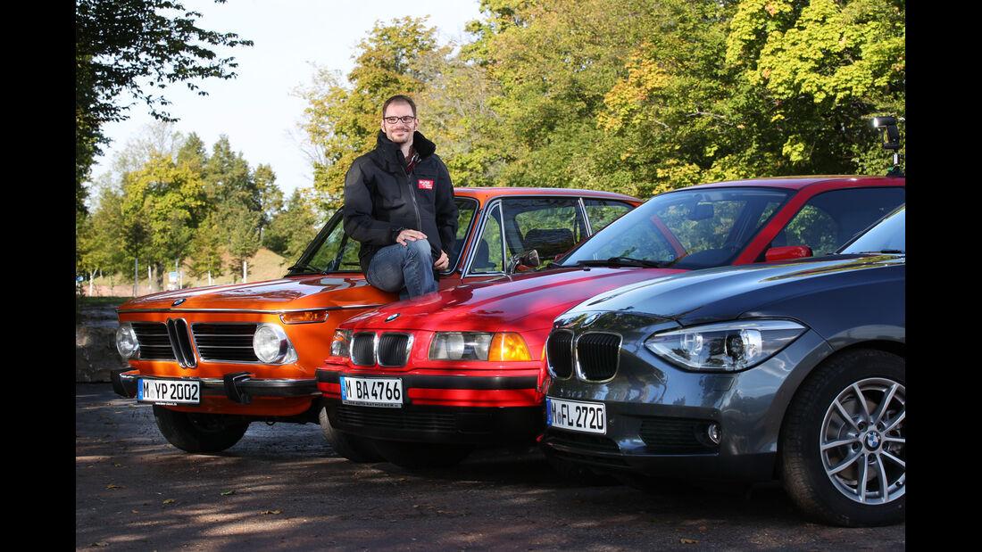 BMW 114i, BMW 316i, BMW 2002, Motorhauben