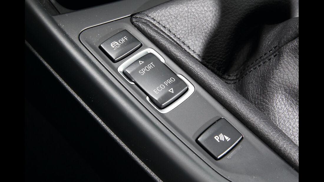 BMW 114i, Bedienelemente
