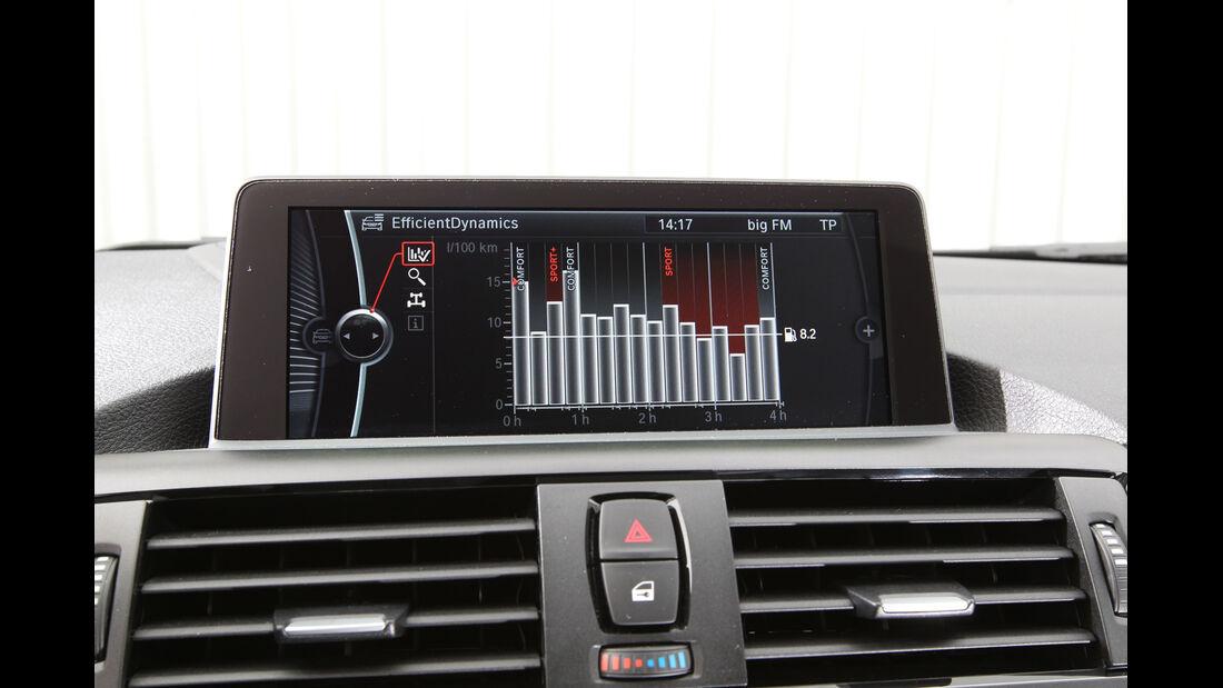 BMW 114i, Bordcomputer, Display