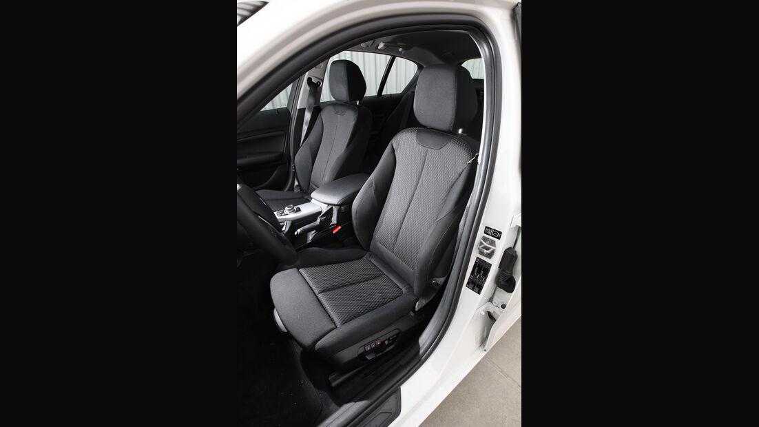 BMW 114i, Fahrersitz