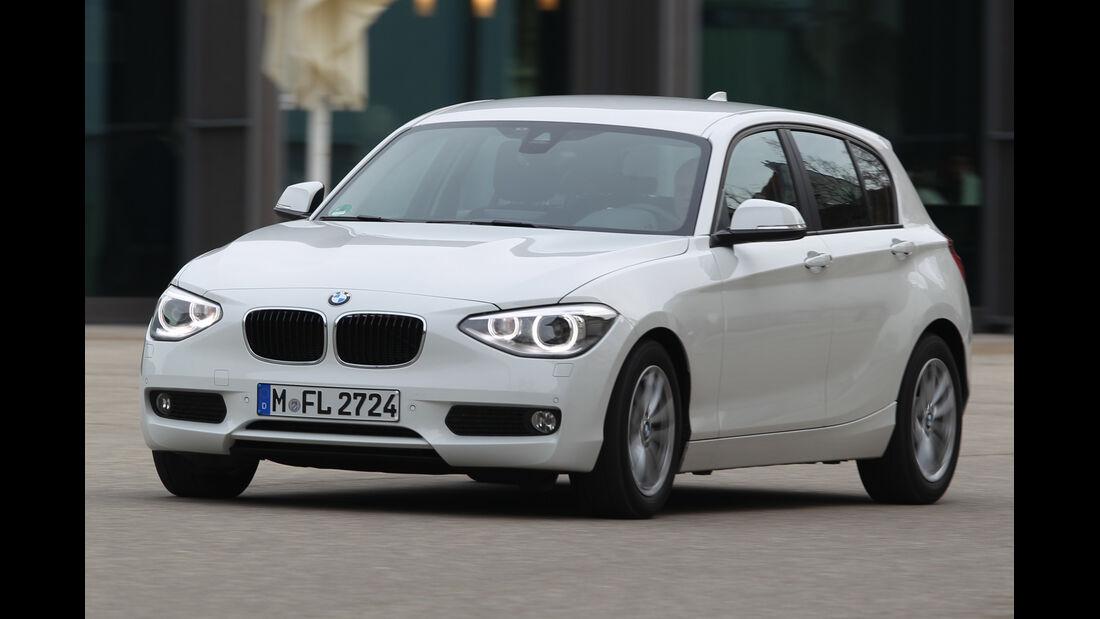 BMW 114i, Frontansicht