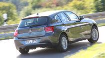 BMW 114i, Heckansicht