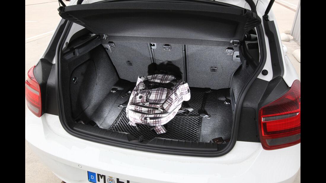 BMW 114i, Kofferraum