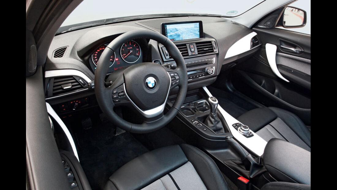 BMW 116d, Cockpit