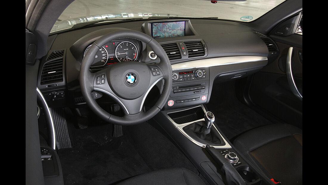BMW 116d, Cockpit, Innenraum