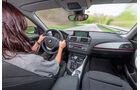 BMW 116d, Cockpit, Lenkrad