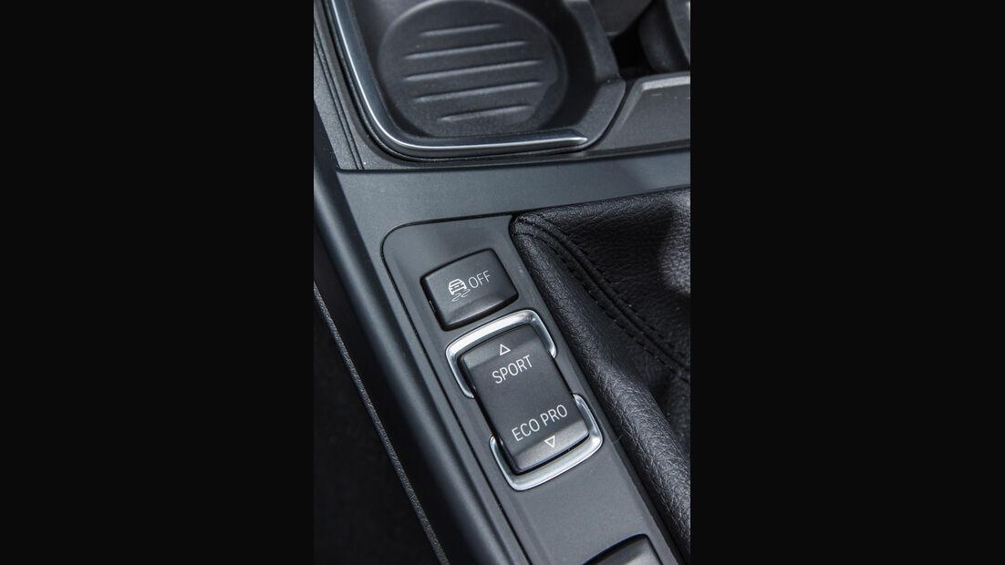 BMW 116d EDE, Bedienelement