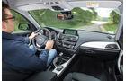 BMW 116d EDE, Cockpit, Fahrersicht