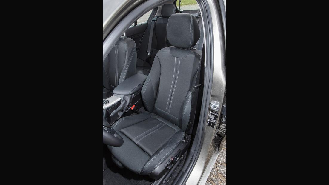BMW 116d EDE, Fahrersitz